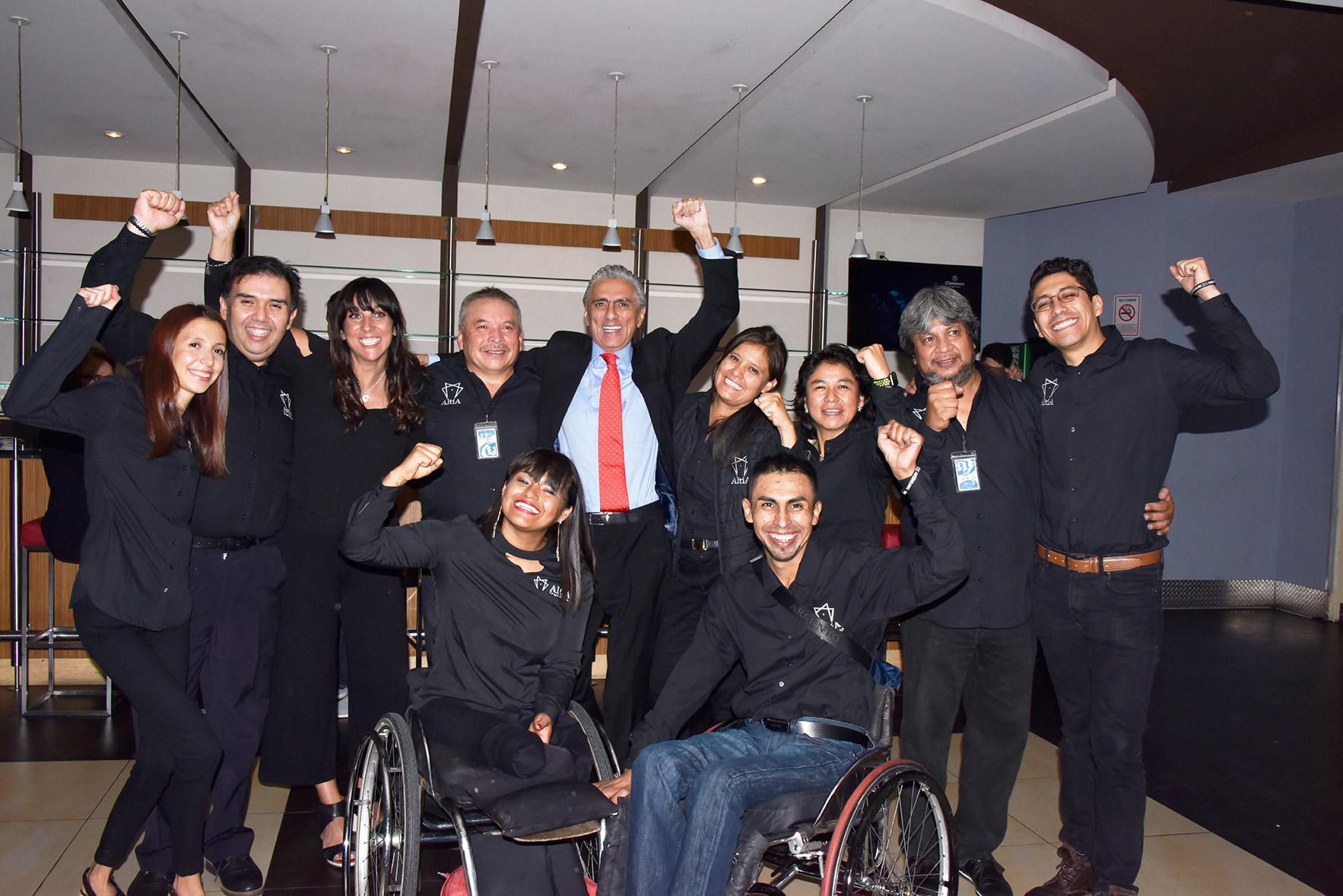 <h3>Evento de recaudación de Grupo Altía I.A.P.<br /><strong>Premiere Nacional «Campeones»</strong><br />Cinemex WTC, CDMX. Septiembre 11, 2018.</em></h3>